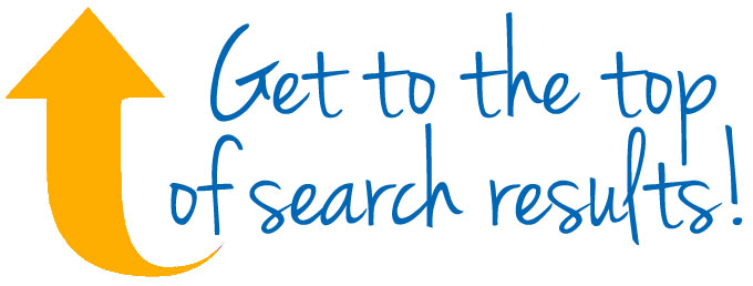get to the top of search results
