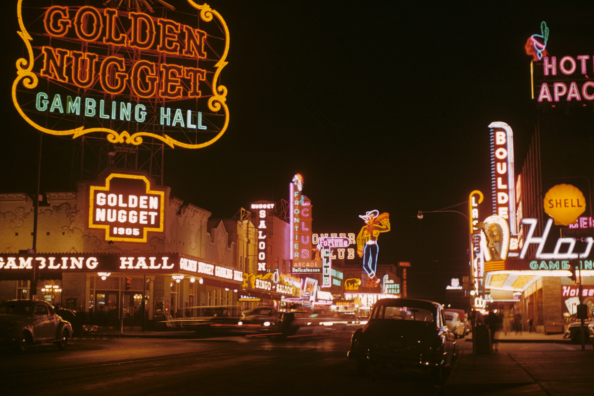 Picture of old Fremont Street