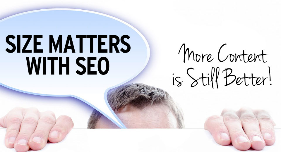 Size matters with SEO